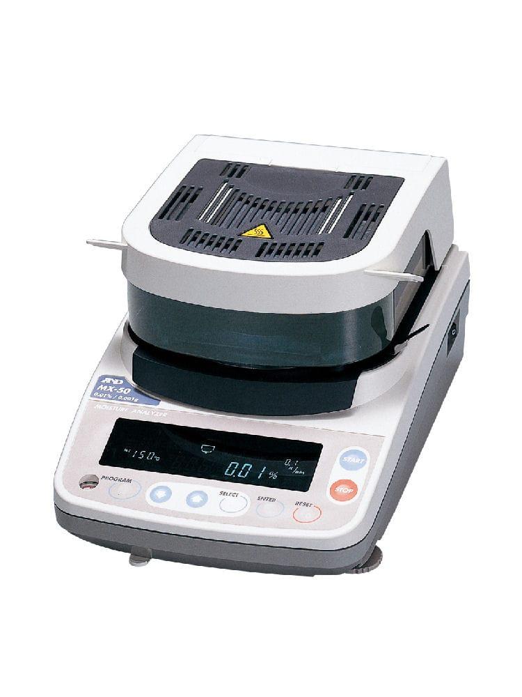 加熱乾燥式水分計 MX50