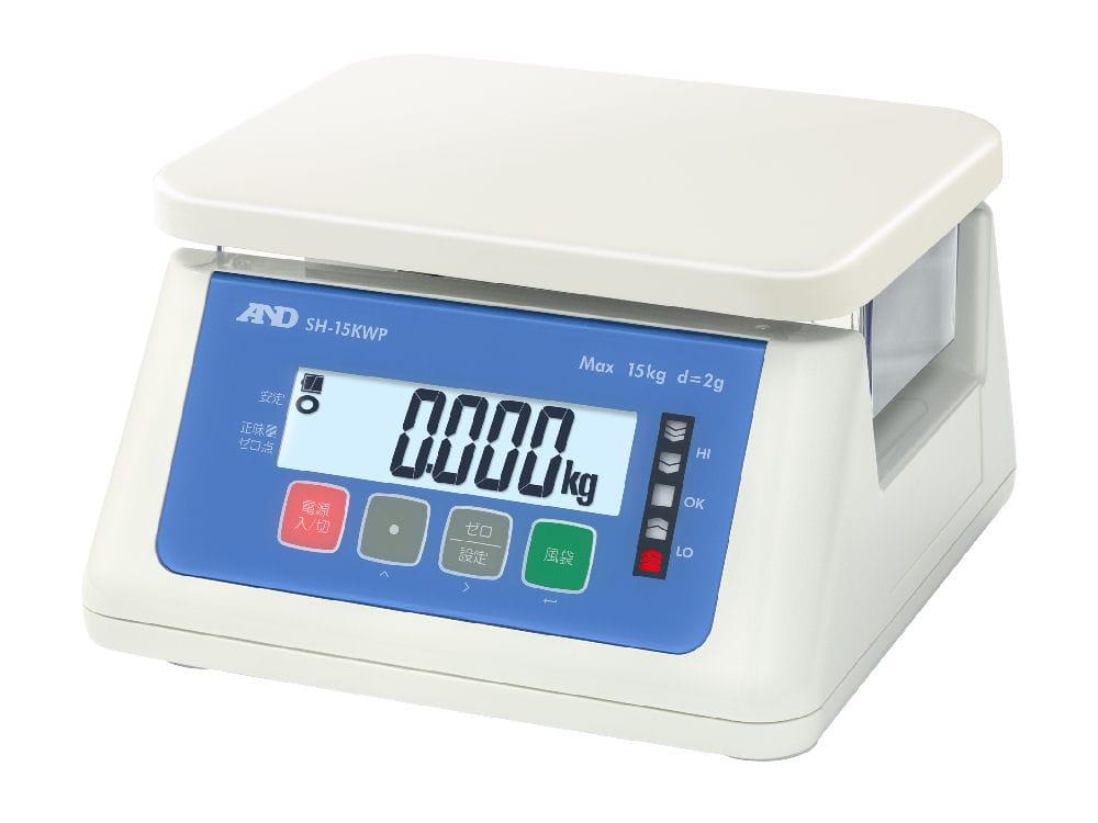 防塵・防水デジタルはかり SH15KWP