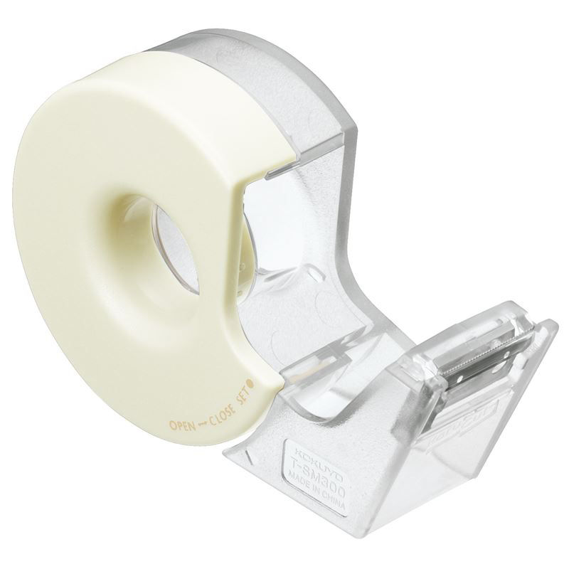 コクヨ テープカッター カルカットハンディ マスキングテープ用 白