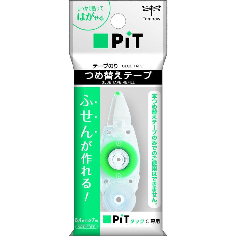 トンボ鉛筆 テープのり ピットタックC 8.4mm幅 詰替用