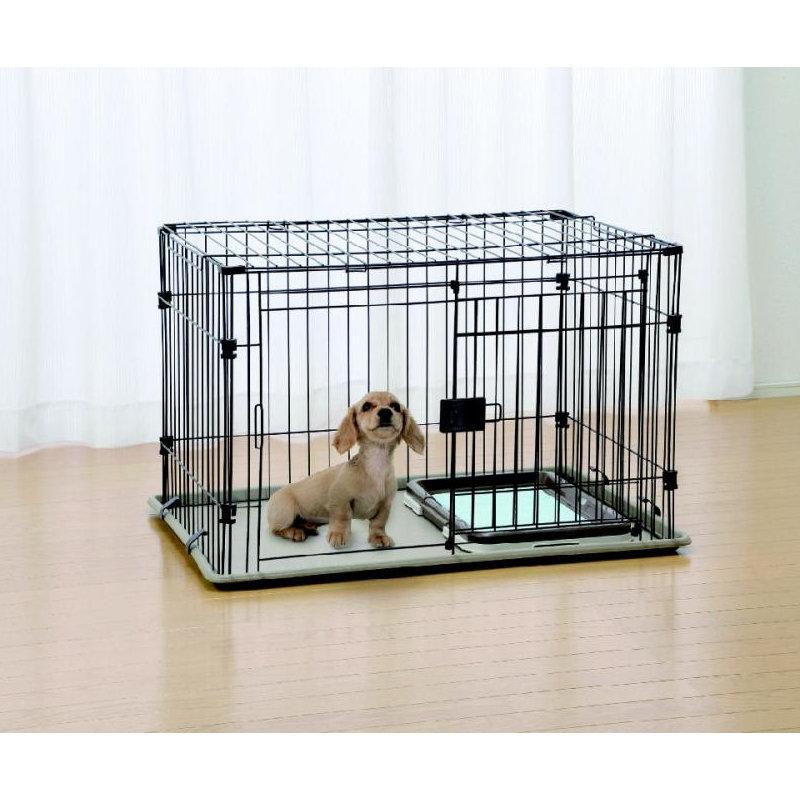 Pet ami ペットケージ Mサイズ スライド式ドア KO-011BR