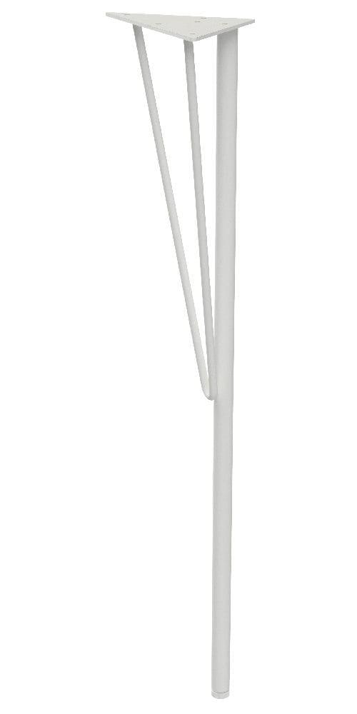 スチールテーブル脚 白 WTW-1