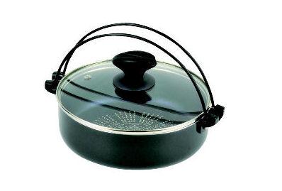 ブルーダイヤモンドコート IH対応ガラス蓋付すきやき鍋 各種