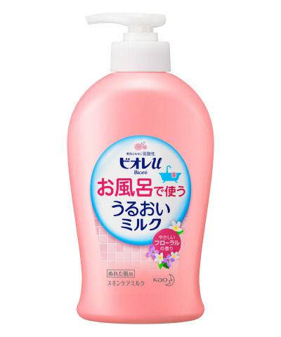 花王 ビオレU お風呂で使ううるおいミルク フローラル