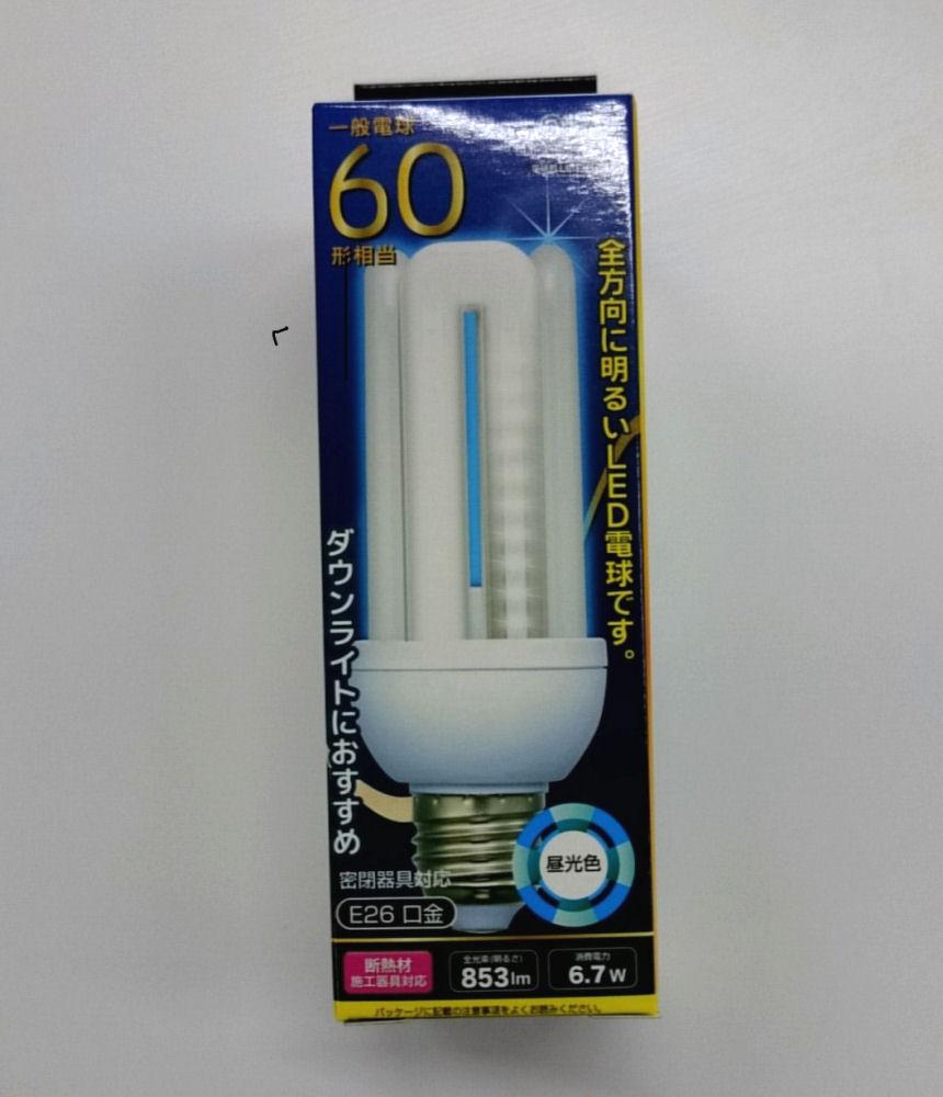 LED電球 60形 E26 LDF7D-G-E26
