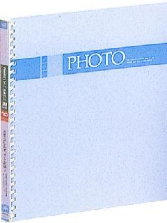 ナカバヤシ ライトアルバム10枚ブルー アLJHO71B