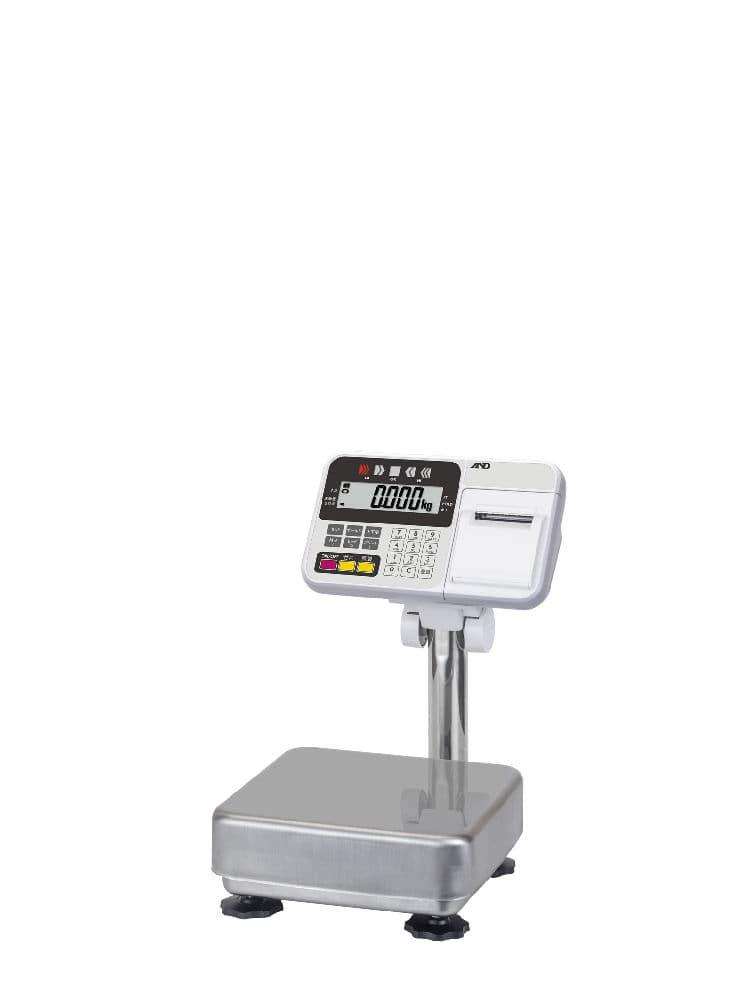 防塵・防水台はかり(内蔵プリンター付き) HV-15KCP