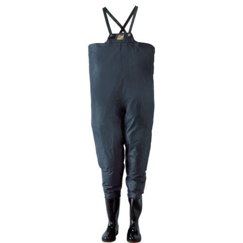 ロゴス クレモナ水産 胴付き長靴 鉄紺 各サイズ