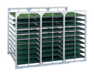 昭和ブリッジ水平式苗箱収納棚 各種