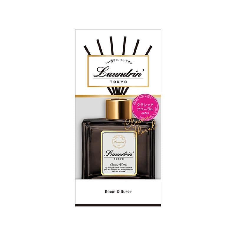 ネイチャーラボ ランドリン ルームディフューザー クラシックフローラルの香り 80ml