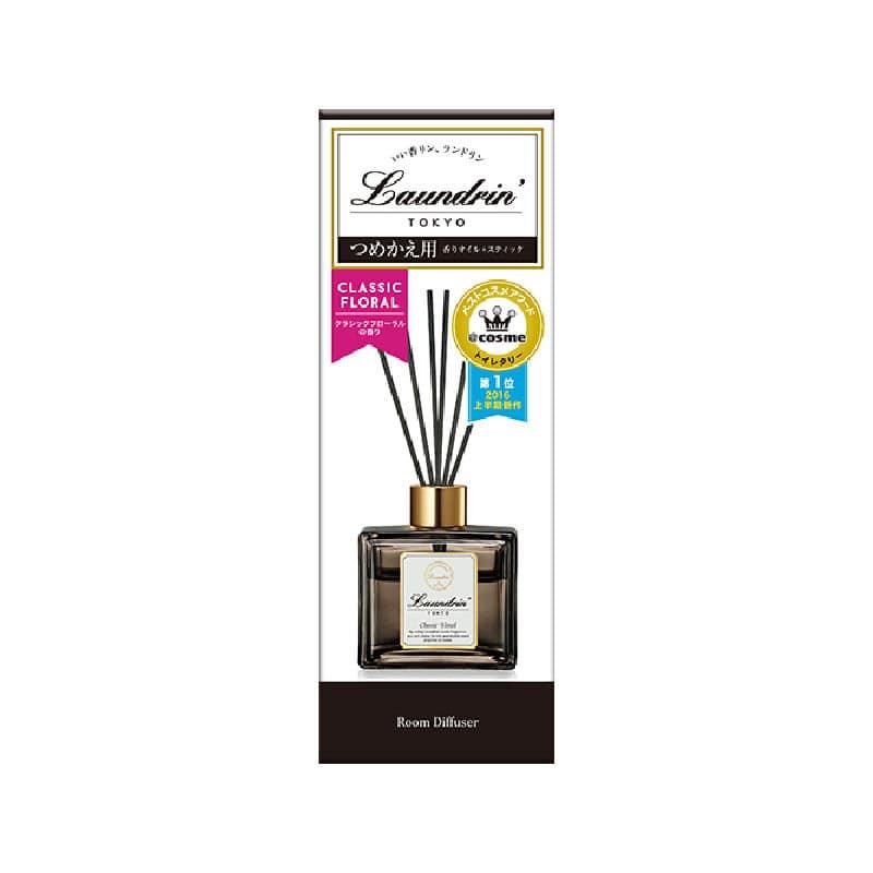 ネイチャーラボ ランドリン ルームディフューザー クラシックフローラルの香り 詰替用 80ml