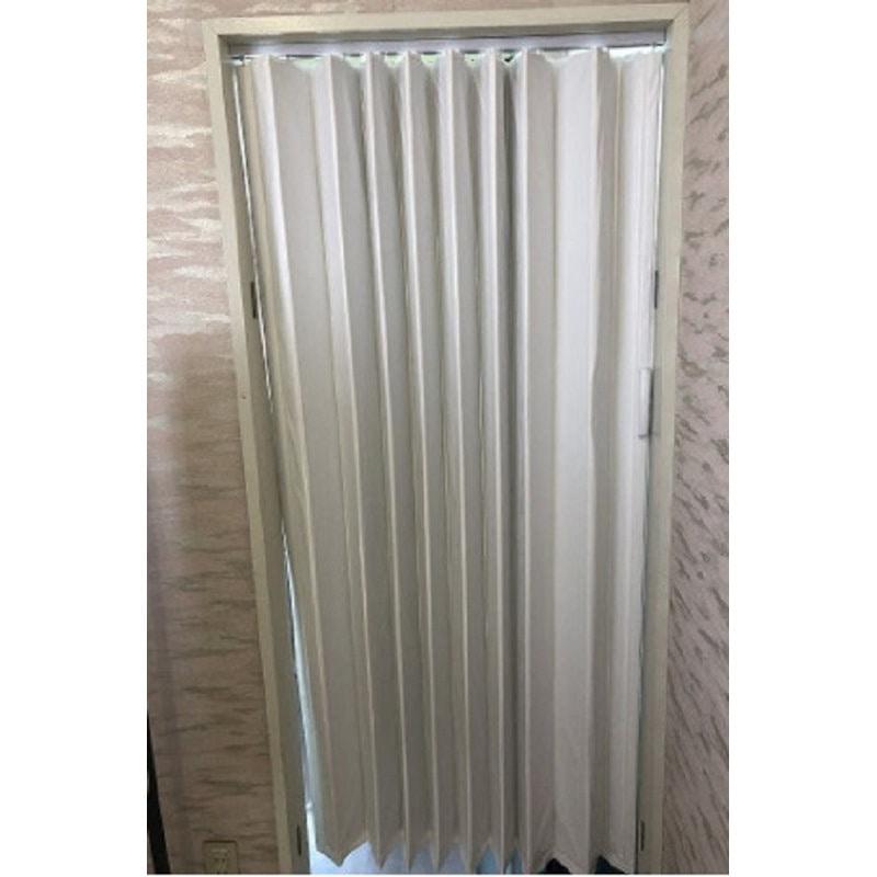 アコーディオンドア ウッディ 150×174cm ホワイト