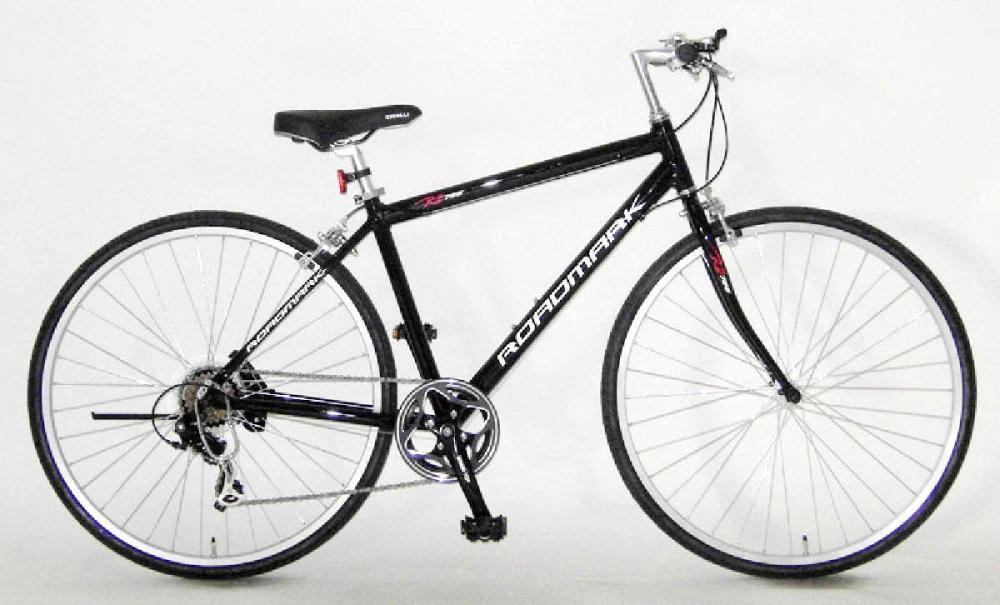 ロードマーク クロスバイク 7007D20 ブラック