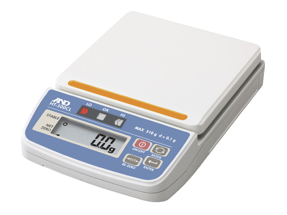 A&D コンパレータライト付デジタルはかりHT-500CL