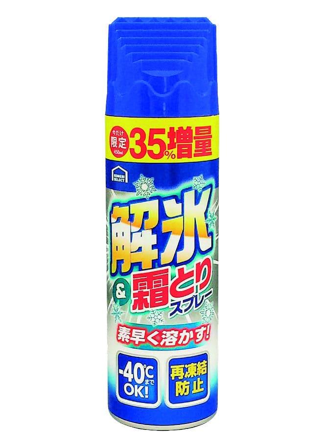 コメリセレクト 解氷霜取りスプレー増量 450ml KH49