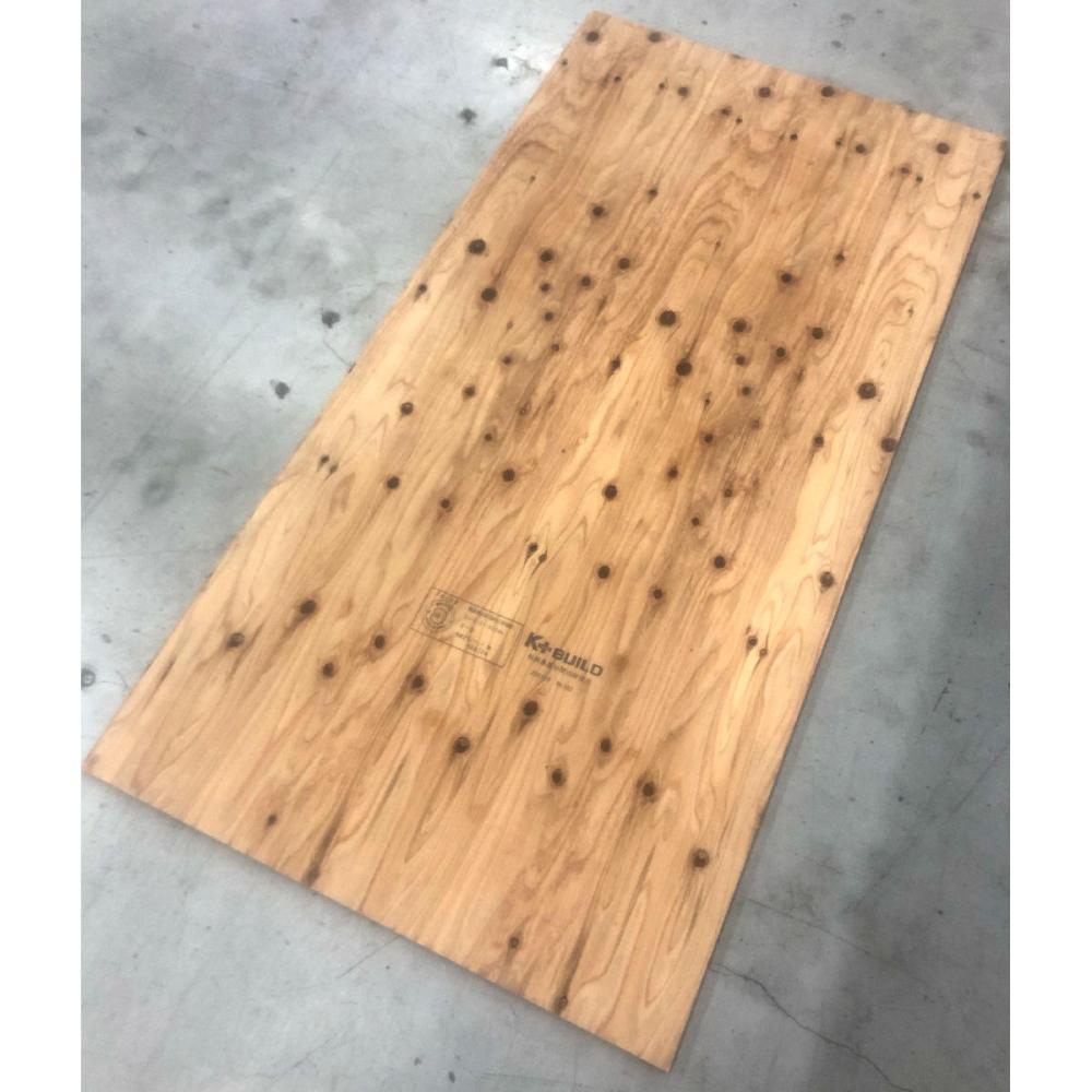 秋田杉(実付)針葉樹合板 24×3×6