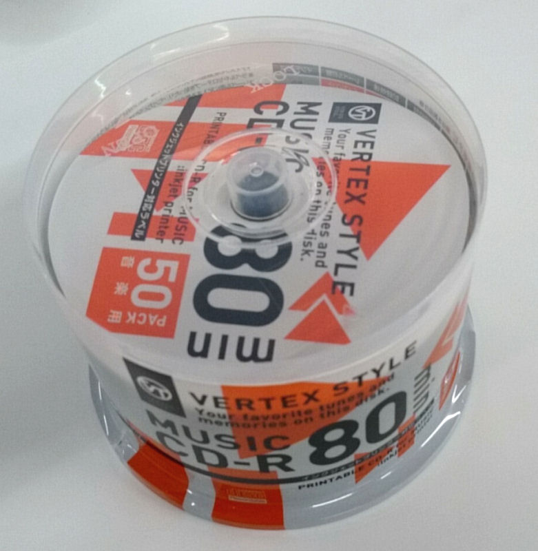 音楽用CD-R 50SP 50CDRA80VX.WP