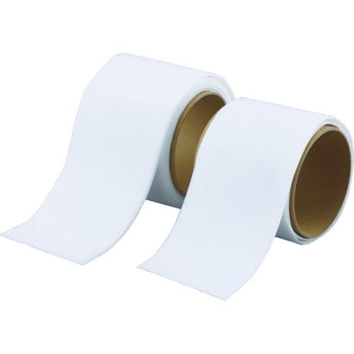 TRUSCO マジックテープ 強粘着 幅100mmX長さ1m 白_
