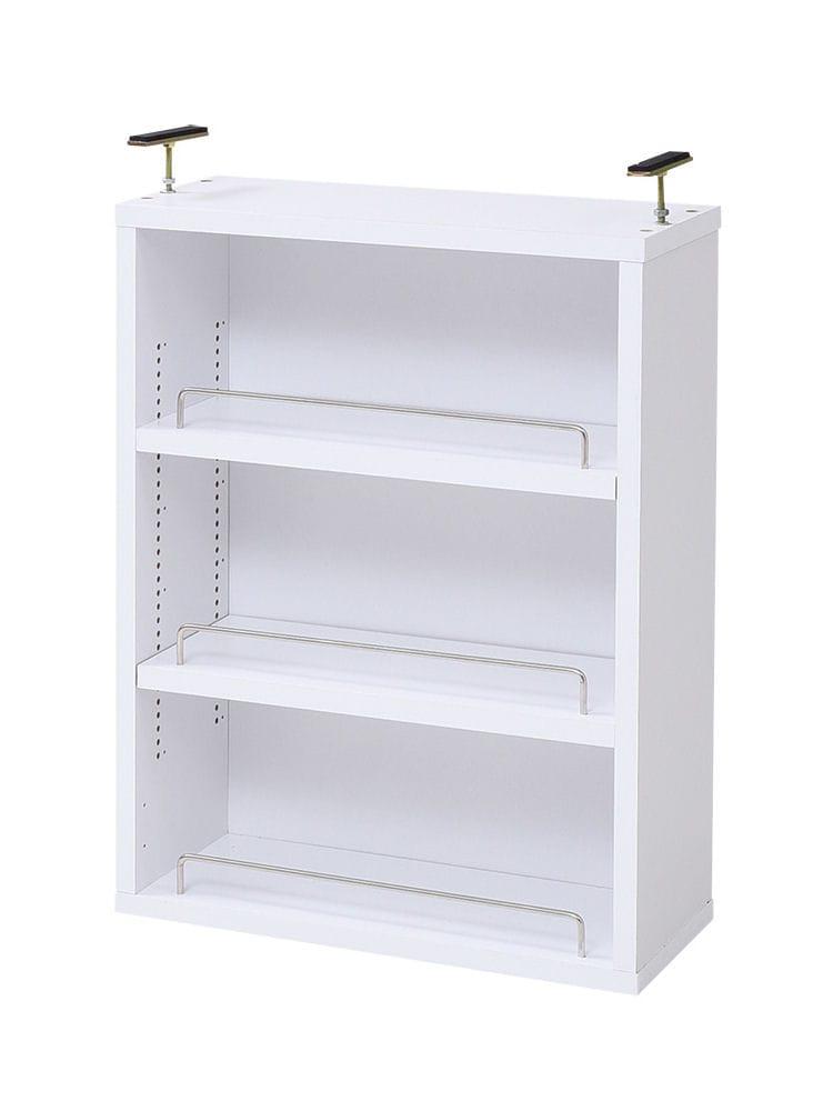棚板が1cmピッチで可動する 薄型オープン上置き 各種