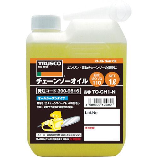 TRUSCO チェーンソーオイル1L_