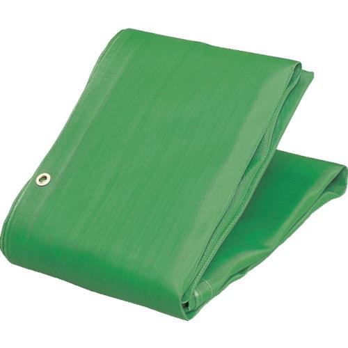 TRUSCO ソフトメッシュシートα 幅3.6mX長さ5.4m 緑_