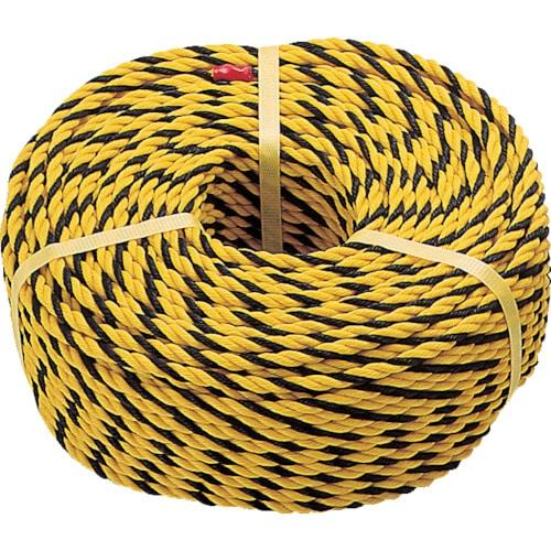 TRUSCO 標識ロープ 3つ打 線径7.5mmX長さ50m_