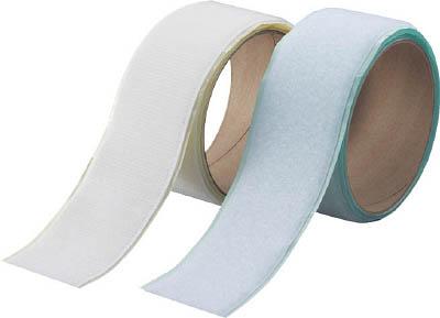 TRUSCO マジックテープセット 裏面粘着 幅50mm×長さ1m 各色