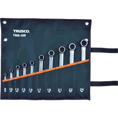 TRUSCO コンビネーションスパナ(スタンダード) セット (10本組)_