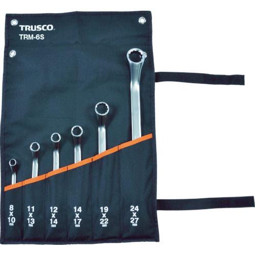 TRUSCO 45°両口めがねレンチセット(6本組)_