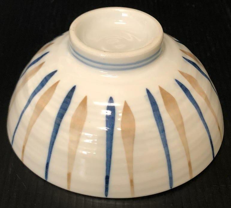 茶漬け碗 刷毛十草 日本製