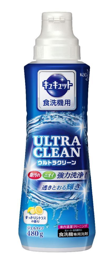 花王 食洗機用キュキュット ウルトラクリーン すっきりシトラスの香り 本体 480g