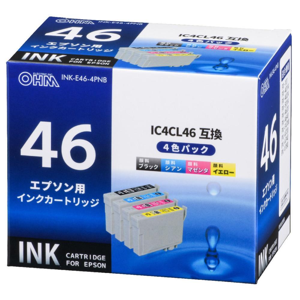 エプソン互換インク 46 4色パック