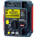 SANWA デジタル絶縁抵抗計 500V/250V/125V_