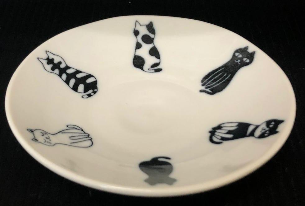軽量皿 おすわりネコ 各種