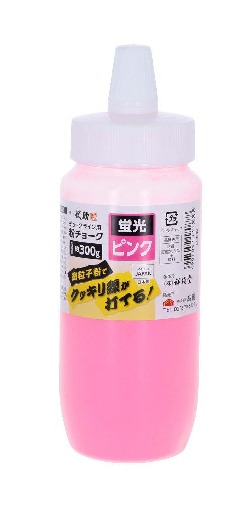 儀助 粉チョーク 300g 蛍光ピンク
