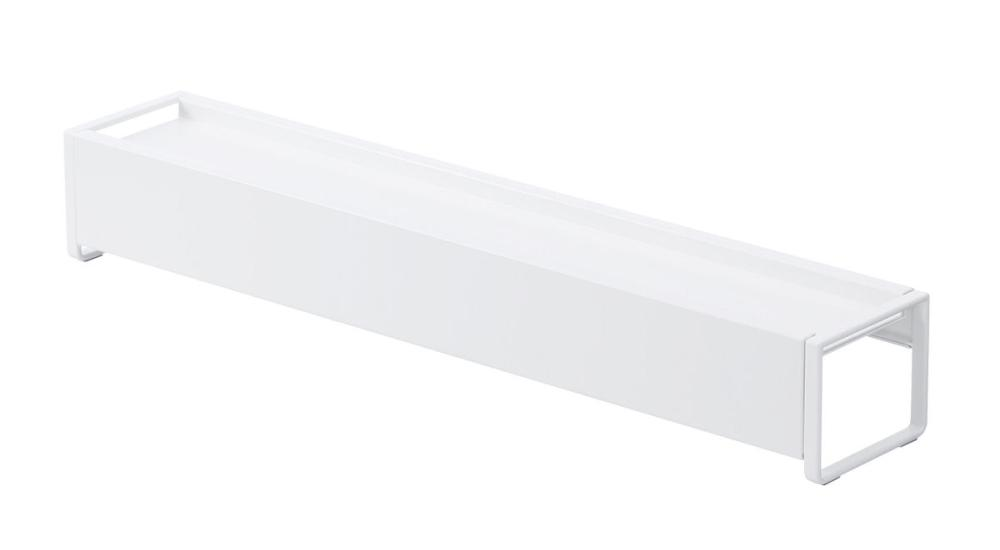 棚付き伸縮排気口カバー プレート ホワイト