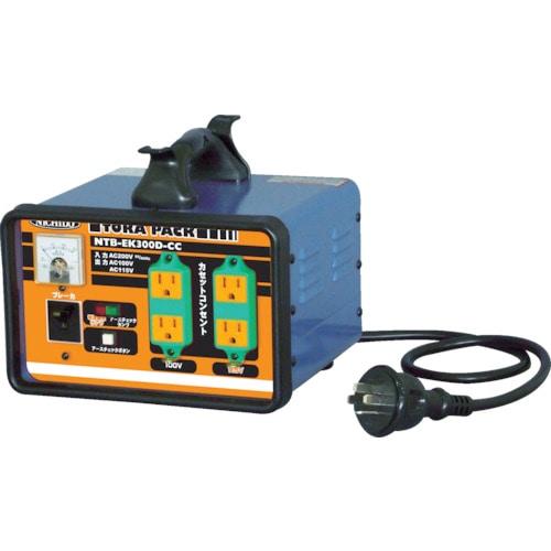 日動 変圧器 降圧専用セットコンセントトラパック アース過負荷漏電しゃ断器付_