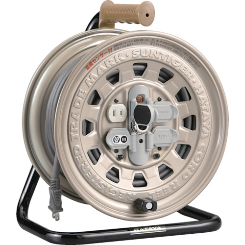 ハタヤ 温度センサー付コードリール 単相100V30M_