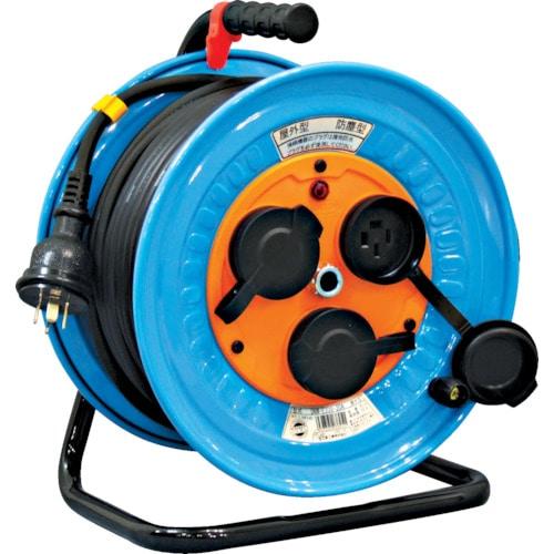 日動 電工ドラム 防雨防塵型三相200V 3.5sq電線アース付 30m_
