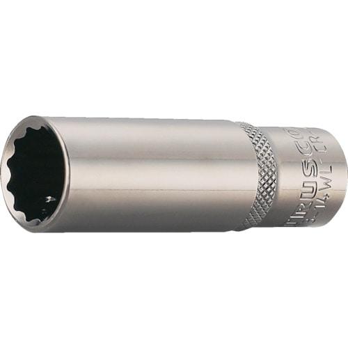 TRUSCO ディープソケット 12角タイプ 差込角9.5 各種