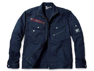 52100 Jawin(ジャウィン)ジャケット ネイビー S
