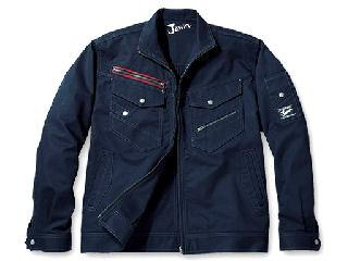 52100 Jawin(ジャウィン)ジャケット ネイビー 4L