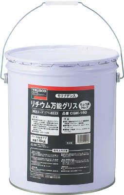 TRUSCO モリブデン入リチウム万能グリス #2 16kg_