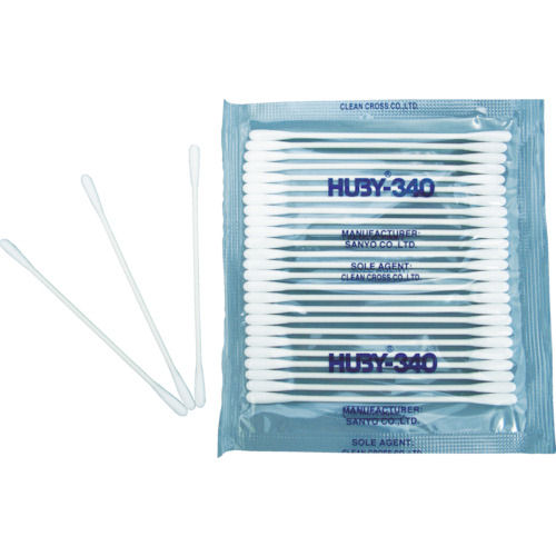HUBY ベビースワッブ 1箱(袋)=100本入(25本X4パック)_