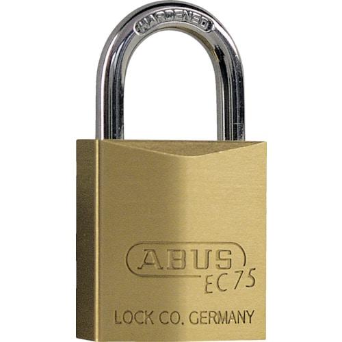 ABUS 真鍮南京錠 EC75-30 ディンプルシリンダー 同番_