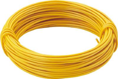 TRUSCO カラー針金 小巻タイプ・18番手 黄 線径1.2mm_