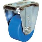 シシク 低床重荷重用キャスター 固定 75径 MC車輪 三価クロメート_