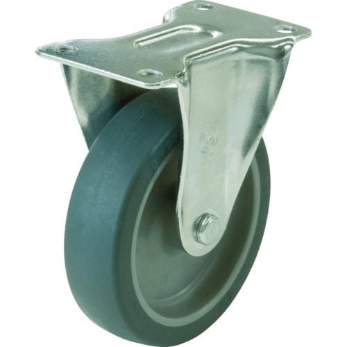 ユーエイ キャスター固定車 65径エラストマー車輪