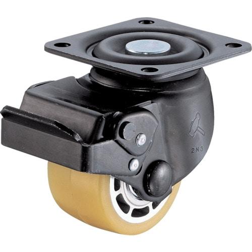 ハンマー 低床式重荷重用自在SP付ウレタン車B入り65mm_