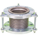 NFK 排気ライン用伸縮管継手 5KフランジSS400 150AX200L_